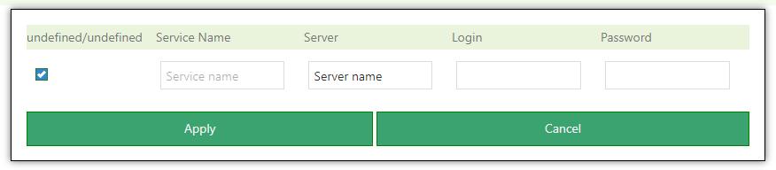admin panel modules dialog box